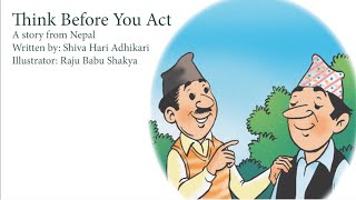 """""""Think Before You Act"""" read by Mallika Kapur 