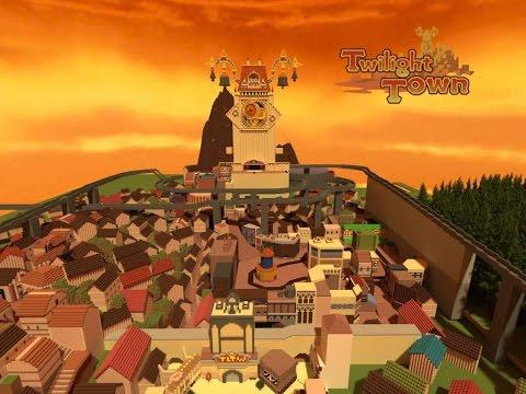 Twilight Town (Kingdom Hearts II) Minecraft Project
