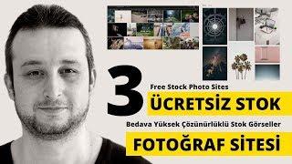 🔴 3 Ücretsiz Stok Fotoğraf Sitesi | Telifsiz Resim | Free Stock Photo Sites