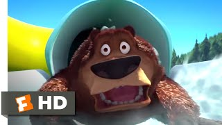 Open Season 2 (2008) - A Plus Sized Grizzly Scene (8/10) | Movieclips
