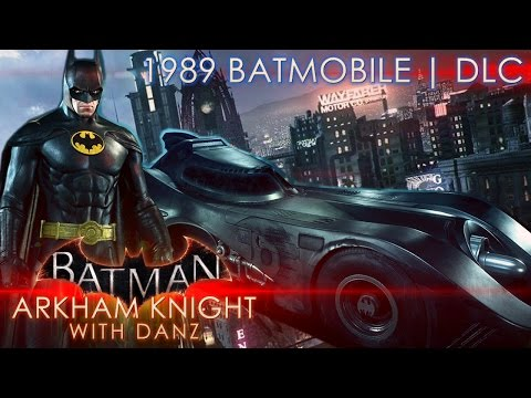 1989 BATMOBILE MAPS | Batman: Arkham Knight DLC with Danz