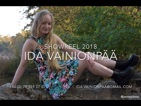 Showreel Ida Vainionpää 2018