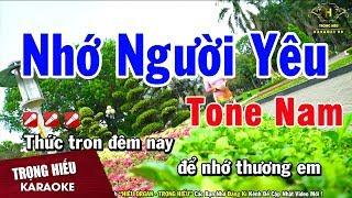 karaoke-nho-nguoi-yeu-tone-nam-nhac-song-trong-hieu