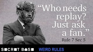 Early MLB had very dumb rules and teams ready to take advantage of them   Weird Rules thumbnail