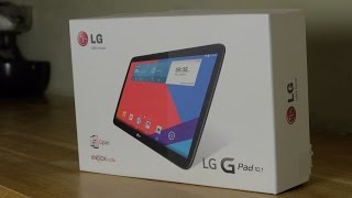 LG G Pad 10.1 Tablet Unboxing and Demo Review