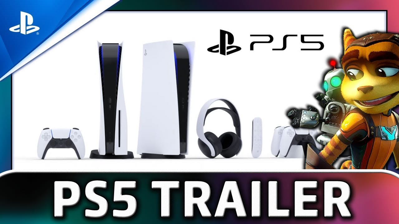 PS5   Official Trailer   Console and Games