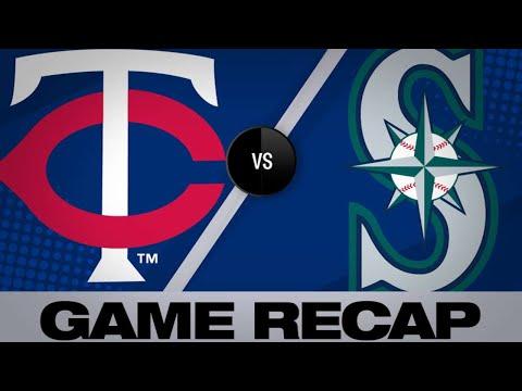 5/16/19: Twins use 7-run 4th in 11-6 win