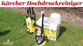 Kärcher Hochdruckreiniger K 3 Full Control Home im Test! Inkl. Kärcher Flächenreiniger!