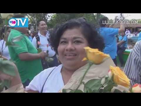 Masaya realiza jornada en conmemoración del Comandante Carlos Fonseca Amador