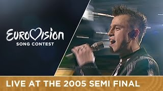 Omar Naber - Stop (Slovenia) Live - Eurovision Song Contest 2005