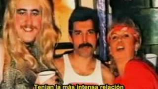 Freddie Mercury and Barbara Valentino