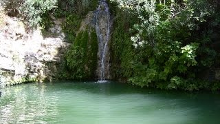 preview picture of video 'Baths of Adonis and home of actor Pambos Theodorou, Paphos region, Cyprus'