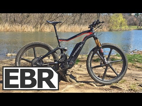Haibike XDURO FullSeven Carbon Ultimate Video Review – Light Carbon Fiber Electric Bike