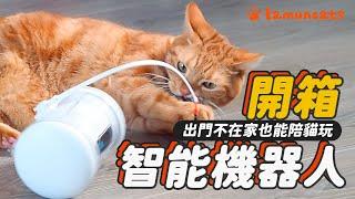 Pet Fitness Robot with cat! unboxing & review VARRAM┃LAMUNCATS ♧