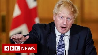Coronavirus: UK is 'past the peak' says PM Boris Johnson