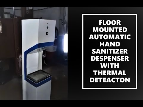 DMT Touch Less Hand Sanitizer Machine