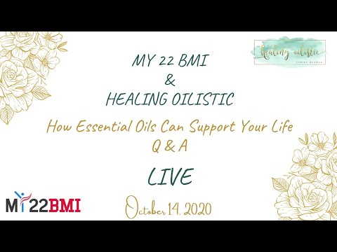 ESSENTIAL OIL 101 CRASH COURSE | ONLINE OIL CLASS - My22BMI Live with Zarine (Oct 14, 2020)