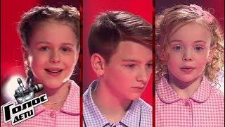 """Голос Дети 2018 -  «Нас не догонят» (t.A.T.u.) """"The Voice Kids Russia"""""""