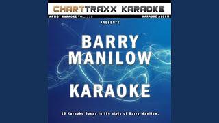 Brooklyn Blues (Karaoke Version In the Style of Barry Manilow)