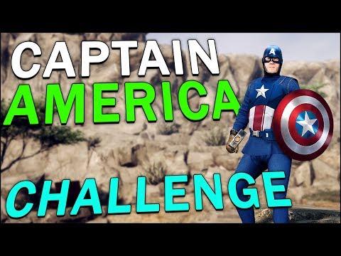 CAPTAIN AMERICA CHALLENGE - Mordhau (Battle Royale)