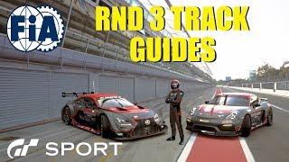 GT Sport FIA Round 3 Track Guides - GR.4 Dragon Trail & GR.2 Redbull Ring