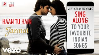 Haan Tu Hain - Jannat|Official Bollywood Lyrics|KK - YouTube