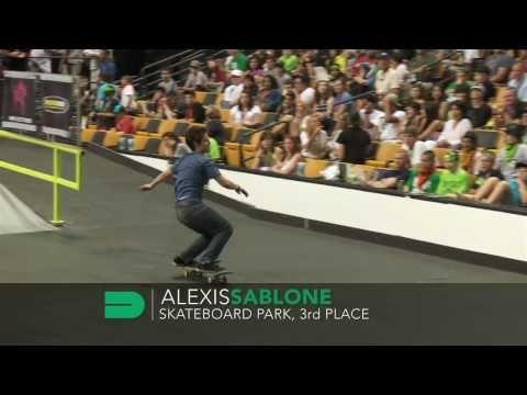 Dew Tour - Alexis Sablone Highlights - Skate Park Finals, 3rd Place - Boston 2010
