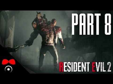 PLAMENOMET VE STOKÁCH! | Resident Evil 2 #8