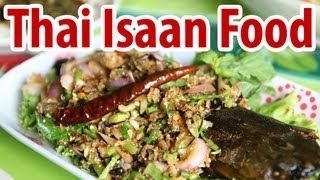 preview picture of video 'Amazing Thai Isaan Food in Bangkok - Som Tam Pu Maa Restaurant (ส้มตำปูม้า)'
