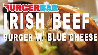 Burger Bar Irish Beef Burger W/ Blue Cheese Review Amsterdam/utrecht Nederland