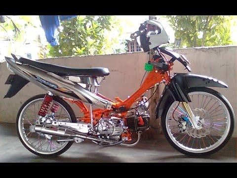Video Motor Trend Modifikasi | Video Modifikasi Motor Yamaha Jupiter Z Drag Style Terbaru