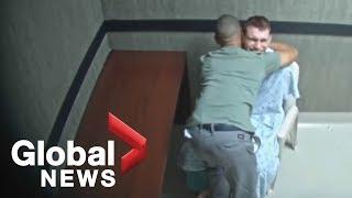 Parkland school shooting suspect Nikolas Cruz confession video: visit from brother