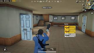 PUBG mobile Gameplay on pc full graphics 4k via tencent games emulator