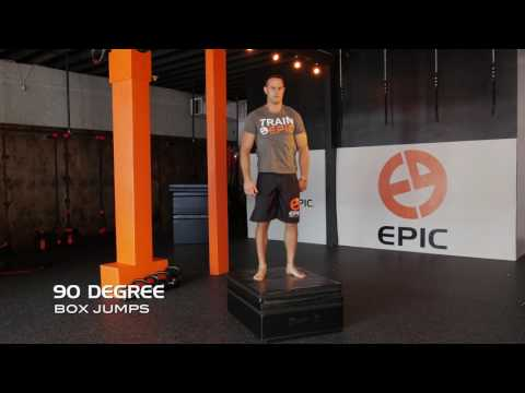 【下半身の強化&体幹部の安定性向上】段差を利用したジャンプトレーニング7種目