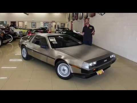 Video of 1981 DMC-12 located in Maryland - $49,990.00 Offered by Flemings Ultimate Garage - QZ9U