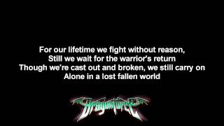 DragonForce - Fallen World   Lyrics on screen   HD