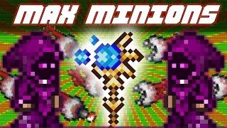 Terraria 1.3.3.3 MAX MINIONS