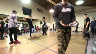 San Francisco FOOTWORK FRENZY 2 | Semi Finals and FINALS