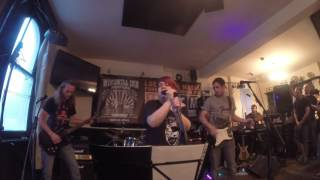 The Rogue Princes perform \'Rocky Mountain Way\' at The Windmill Inn, Ashford