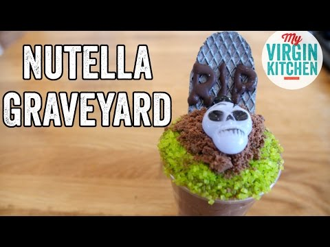 NUTELLA DIRT CUP GRAVEYARD