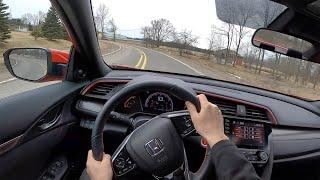 2020 Honda Civic Si Sedan - POV Driving Impressions