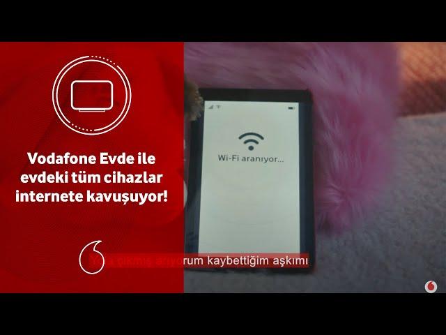 Vodafone Evde ile evdeki tüm cihazlar internete kavuşuyor!