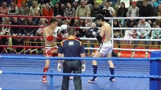 PRO-AM Турнир Россия vs Киргизия, 3 бой, 1 раунд