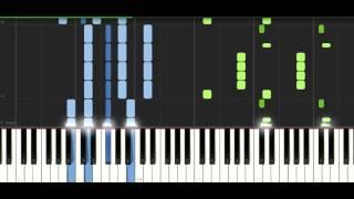 Jim Yosef - Lights - Synthesia piano tutorial