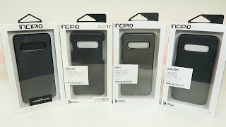 Incipio Cases for Samsung Galaxy S10 - (Esquire, DualPro, Aerolite, NGP)