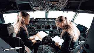 Who Flies THE PLANE? Differences Between CAPTAIN, FIRST OFFICER & SECOND OFFICER By @DutchPilotGirl