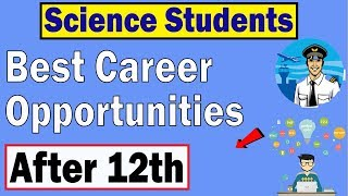 Best Career Options After 12th Science || What to Do after 12th Science PCB And PCM - Download this Video in MP3, M4A, WEBM, MP4, 3GP