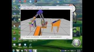 Video Mô phỏng Robot công nghiệp