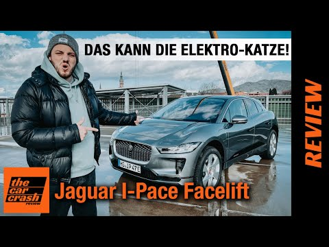 Jaguar I-Pace Facelift (2021) Das kann die Elektro-Katze!!! Fahrbericht | Review | Test | EV400 AWD