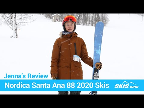 Video: Nordica Santa Anna 88 Skis 2020 8 40